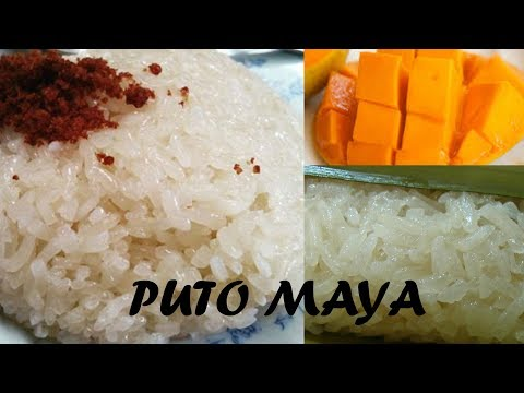 HOW TO COOK PUTO MAYA SO EASY!!! | KAKANIN | steamed sticky rice