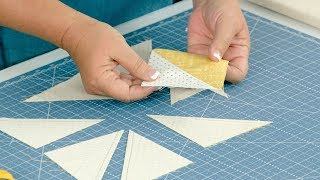 3 Ways To Make 1/2 Square Triangles