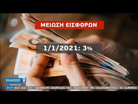 Κορονοϊός | Μέτρα στήριξης για νοικοκυριά και επιχειρήσεις | 25/11/2020 | ΕΡΤ