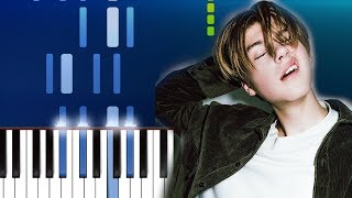 Ruel   Not Thinkin' Bout You (Piano Tutorial