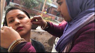 Facial Hair Threading Eyebrows / Upper Lips