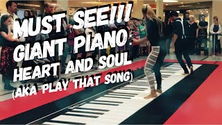 Piano from BIG  with Tom Hanks - performance on the original Big Piano