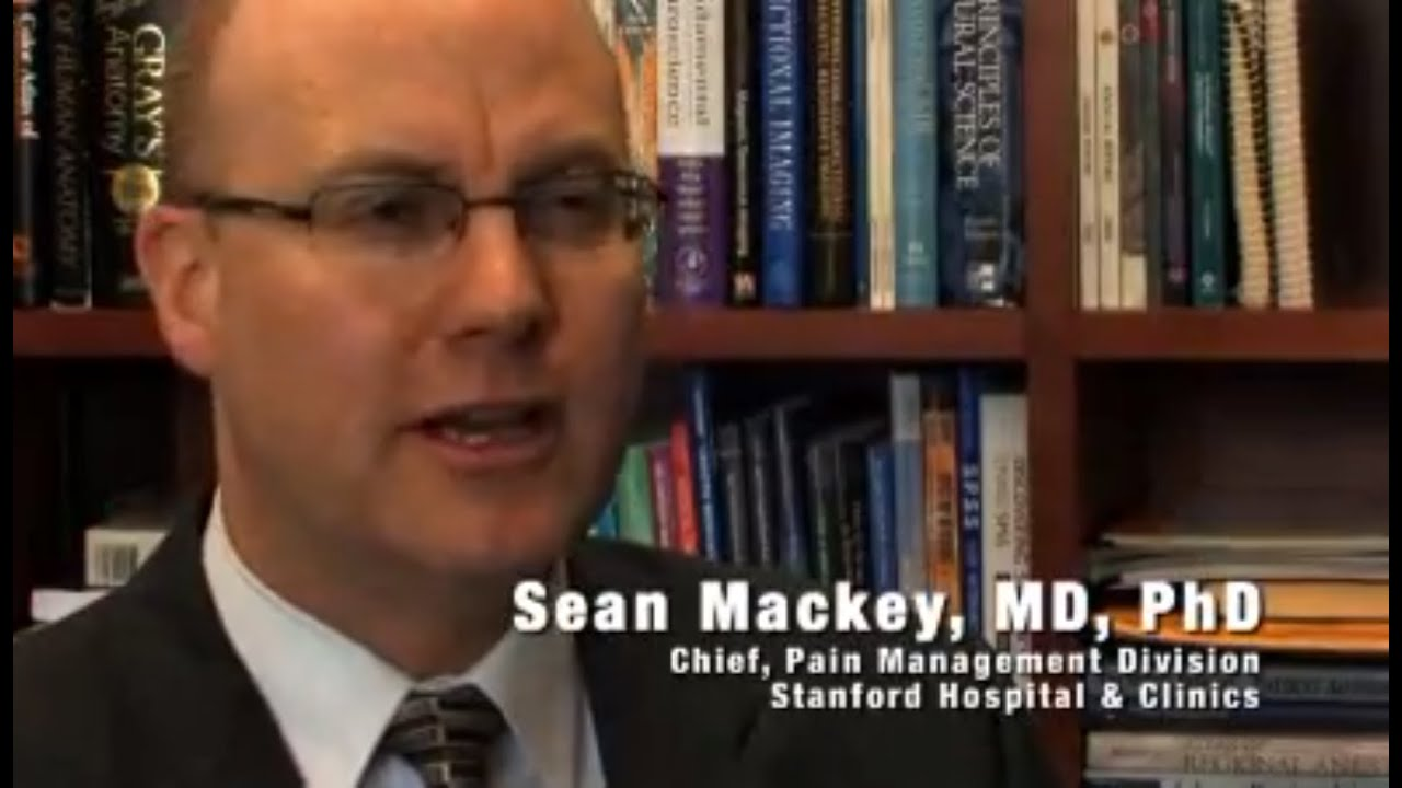 Dr. Sean Mackey on Pain Management and Stanford's Approach to Treating Pain