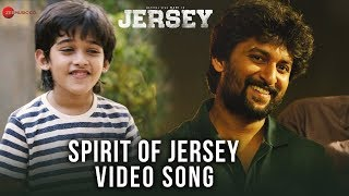 Spirit Of Jersey | Jersey | Nani & Shraddha Srinath | Anirudh Ravichander | Kaala Bhairava