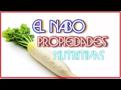 El Nabo y Sus Propiedades Nutritivas