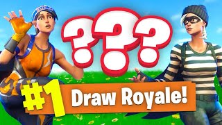 We *TIED* A GAME Of Fortnite Battle Royale