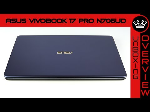 Asus Vivobook 17 Pro N705UD (2018)   Quick Unboxing & Overview