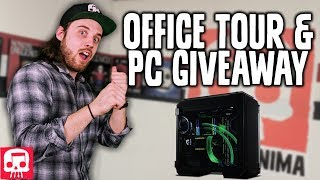 JT MUSIC OFFICE TOUR and Gaming PC Giveaway