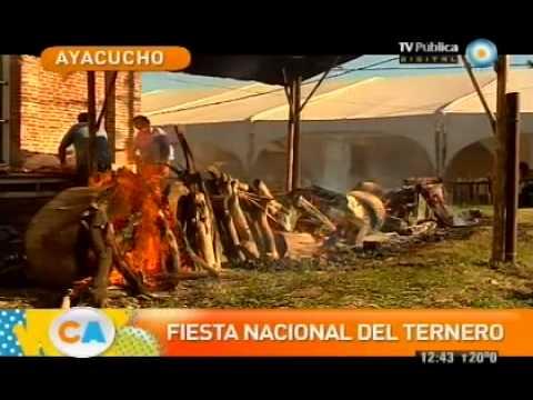 Fiesta Nacional del ternero en Ayacucho