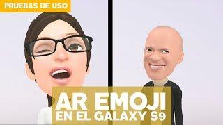 Así funcionan los AR Emoji en el Galaxy S9
