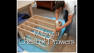 Shaker Chest Of Drawers Building Process By Doucette And Wolfe Furniture Makers