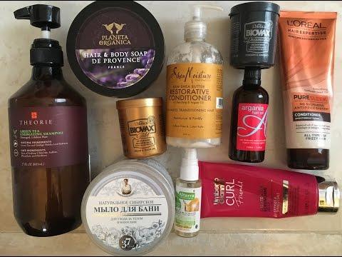 Włosy masować sól i olej