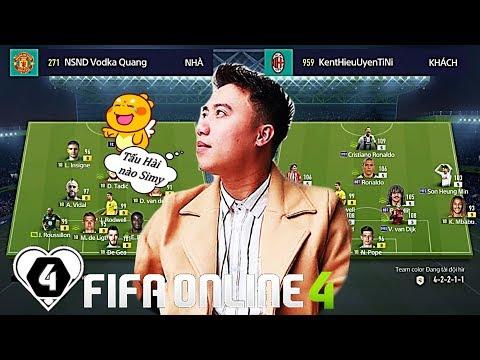 FIFA ONLINE 4   Vodka Quang TẤU HÀI Cực Mạnh Cùng NinhDZ Với Simy TB +8   Vòng 1/8 I Love Mở Rộng