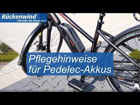 Pflegehinweise für Pedelec Akkus