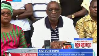 Kisii Vote hunt: NASA cries foul over double booking of rally venue