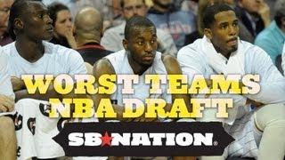 Worst Teams NBA Draft thumbnail