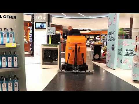 TASKI Swingo 5000 binicili temizlik otomatı