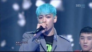 BIGBANG_0311_SBS Inkigayo_INTRO & BLUE