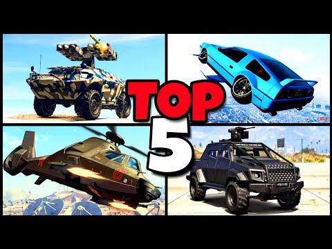 GTA ONLINE TOP 5 VEHICLES TO BUY (2018)
