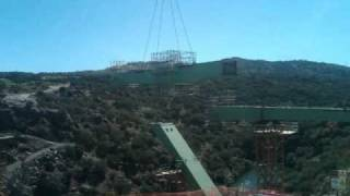 preview picture of video 'Instalación Puente Los Angeles San Rafael'