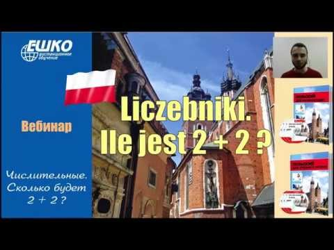 Польский язык. Числительные в польском языке. Сколько будет 2 + 2?