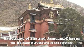 Video : China : Labrang Monastery, GanSu 甘肃 province