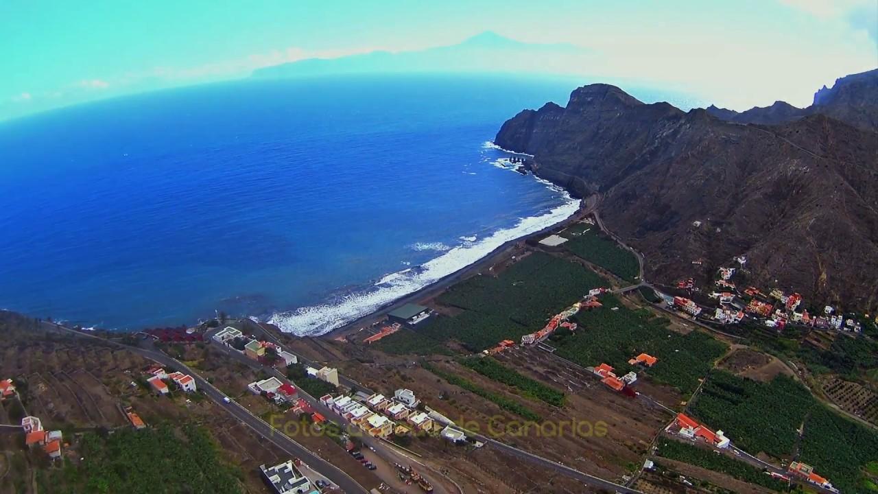 Hermigua, su valle y el Cedro - La Gomera - Paisajes de Canarias