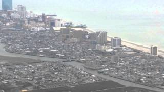 Flying into Atlantic City, NJ