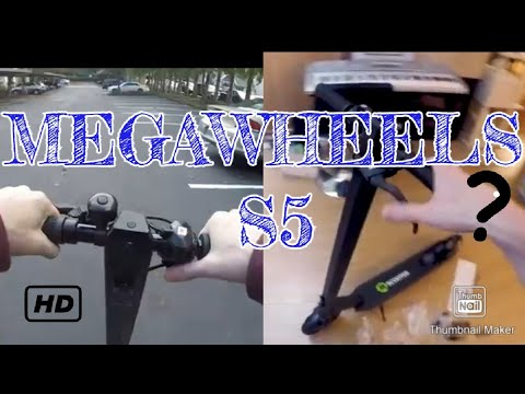 Megawheels S5 Electric Scooter: Unboxing and First Impressions