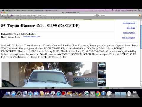 Used Cars For Sale By Private Owner Under 1500 >> craigslist trucks | You Like Auto
