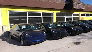 Tesla Model 3 - Ankunft in Österreich