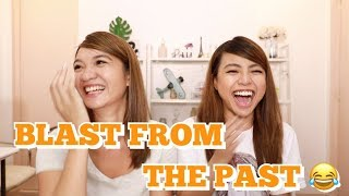 REACTING TO FUNNY OLD PHOTOS w/ MICHELLE DY | Angel Dei