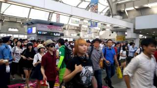 C90コミックマーケット90初日2016年8月12日りんかい線国際展示場駅改札前始発組2/2