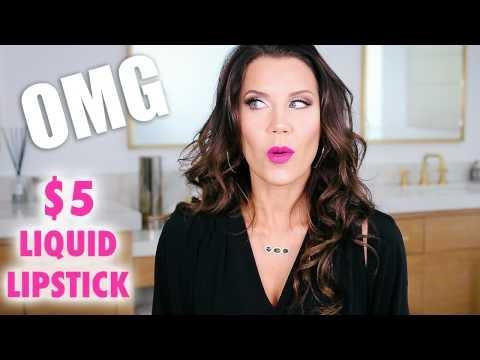 $5 MATTE LIQUID LIPSTICK … OMG!!!