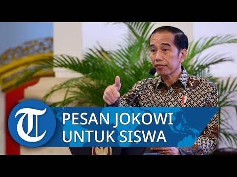 Jokowi Beri Contoh Kasus Nepotisme di Dunia di Hadapan Siswa SMKN 57 Jakarta