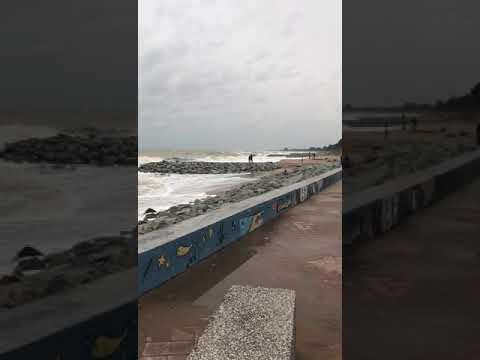 Terkini !!! Keadaan ombak pantai di Bachok,Kelantan
