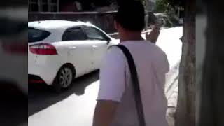 preview picture of video 'un Algérien fou ' BRAHIM ' en Tunisie regarder comment il veut rentrer chez lui à Mohammadia Mascara'