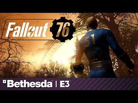 Fallout 76 Full Presentation and Battle Royale Reveal | Bethesda E3 2019