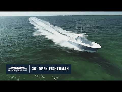 Invincible 36 Open Fisherman - IN STOCK video