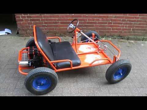 Elektrogokart, Zweisitzer,Kettcar, Do it Yourself,for Kinder,Eigenbau