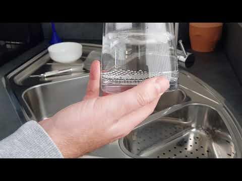 Reinigungsperlen für Karaffen, Vasen, Dekanter etc. - Erklärung der Anwendung und Funktionsweise