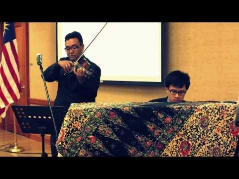 Pulanglah by Aishah. Violin & Piano cover by Munir Mahzair & James Choong