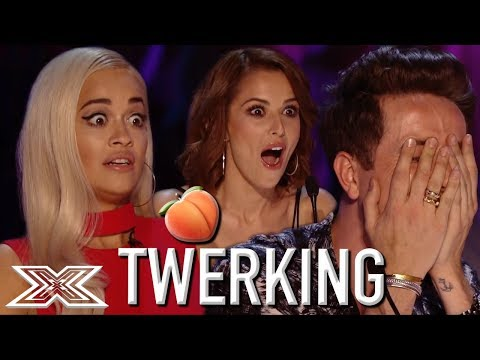 TWERKING X Factor Contestant SHOCKS The Judges | X Factor Global