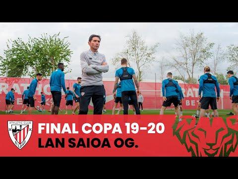 Training I 48 hours until Athletic Club vs Real Sociedad I Copa 2019-20