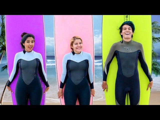 SURFEAMOS POR PRIMERA VEZ | LOS POLINESIOS VLOG