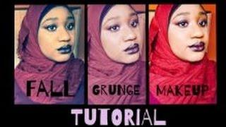 Fall Makeup Tutorial | Grunge Look
