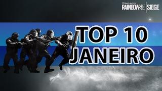 [PT-BR] RAINBOW SIX SIEGE - TOP 10: As melhores jogadas de Janeiro (2017)