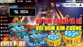 Free Fire | Up Kim Cương Là Dễ Với Mở Hòm Kim Cương | Lão Gió