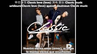 JYP, Taecyeon, Wooyoung & Suzy - Classic (Sub Español + Romanización + Hangul)