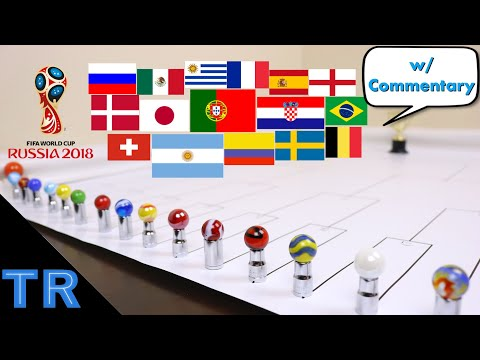 World Cup Marble Race 2018 - Toy Racing